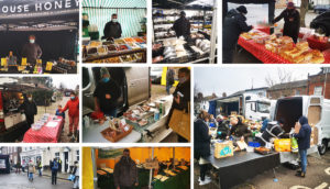 Hungerford's wednesday market continues during the january lockdown - with a few changes (12th january up to date)
