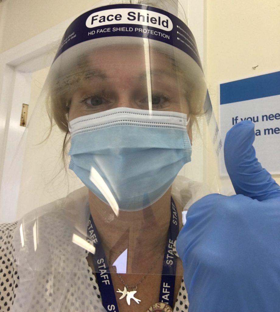 Nicola Chester JOG PPE