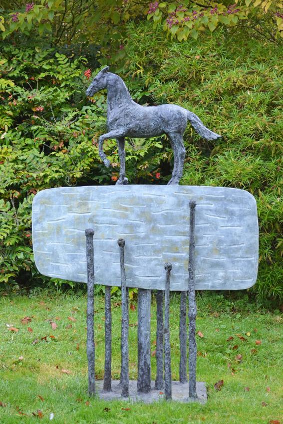 Sculpture Christopher Le Brun, Belvedere,