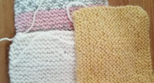 knitted squares