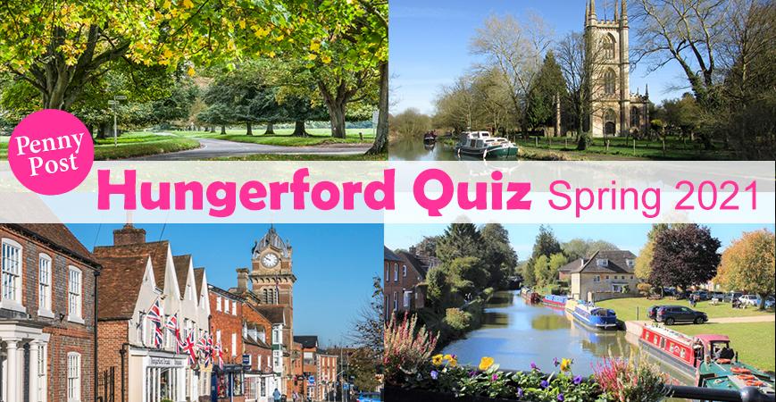 50th Hungerford Quiz 2021 header - Spring