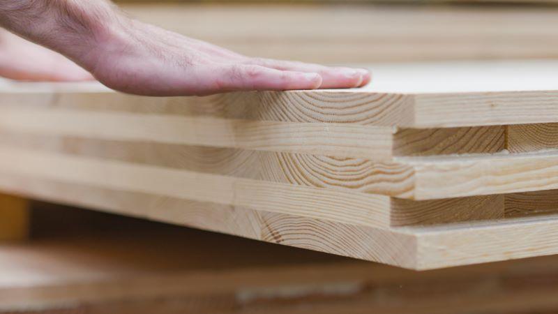Douglas Fir CLT cross laminated timber