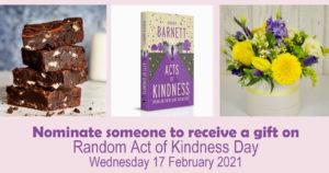 Random Acts of Kindness Giveaway header
