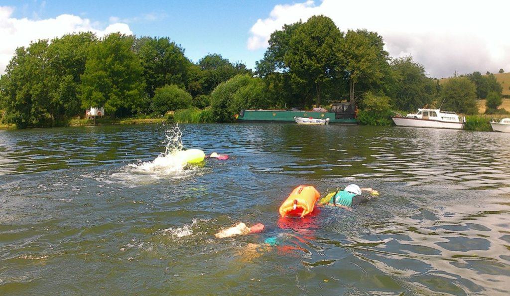 wild swimming river