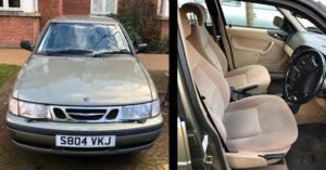 Saab car for sale