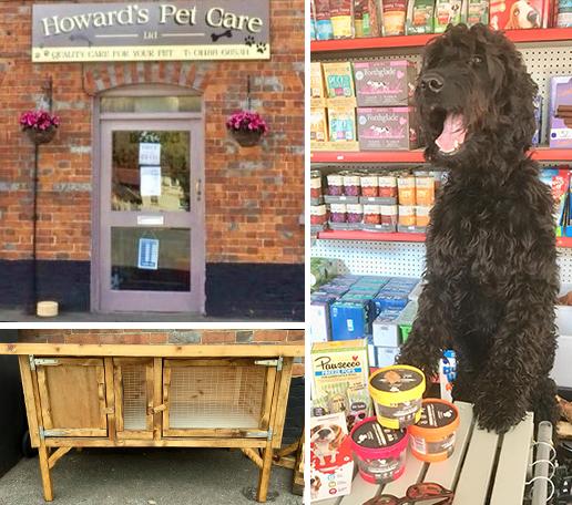 Howard's Pet Care montage