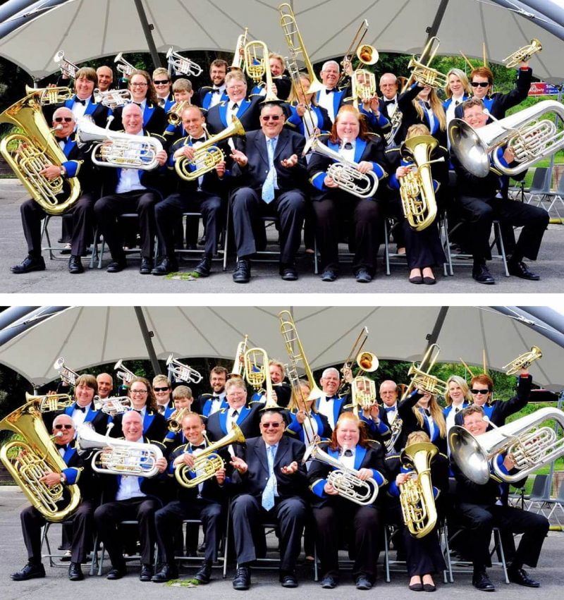 Hungerford Town Band Spot the Difference
